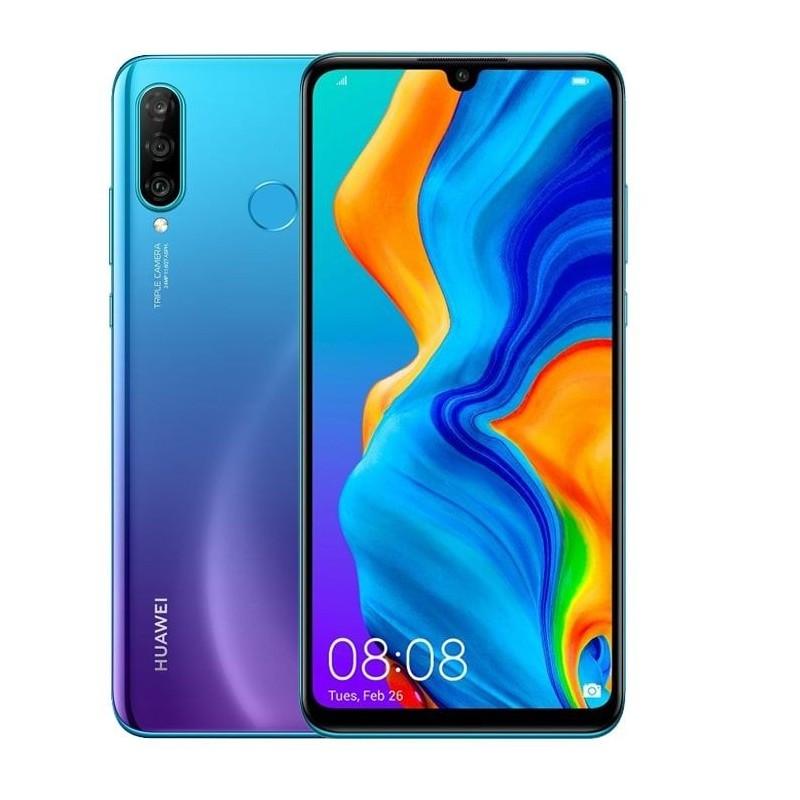 Huawei P30 Lite Dual Sim 6GB RAM 128GB LTE (Peacock Blue)